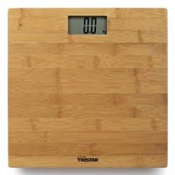 Tristar Waga łazienkowa, 180 kg, bambus