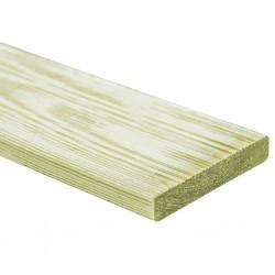stradeXL Deski tarasowe, 30 szt., 150x12 cm, drewno