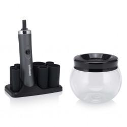 Tristar Urządzenie do czyszczenia pędzli do makijażu MB-2020, czarne