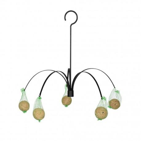 Esschert Design Karmnik dla ptaków, wiszący, w formie palmy