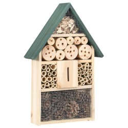 stradeXL Insect Hotel 31x10x48 cm Firwood