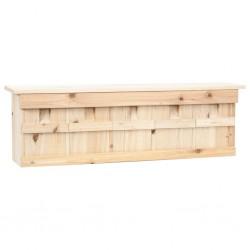 stradeXL Domek dla wróbli, 5 pokoi, 68x15x21 cm, drewno jodłowe