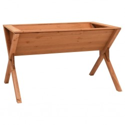 stradeXL Donica, 90x55x56 cm, drewno jodłowe