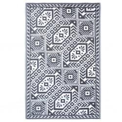 Esschert Design Dywan zewnętrzny, 182x122 cm, wzór diamentowy