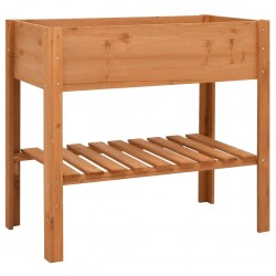 stradeXL Donica, 88x43x80 cm, drewno jodłowe
