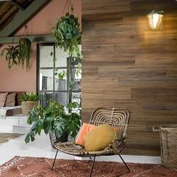 WallArt Listwy drewnopodobne w stylu naturalnego dębu, ciepły brąz