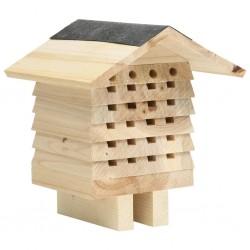 stradeXL Hotel dla pszczół, lite drewno jodłowe