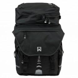 Willex Sakwy rowerowe z torbą na górze 1200, XL, czarne, 65 L, 13411