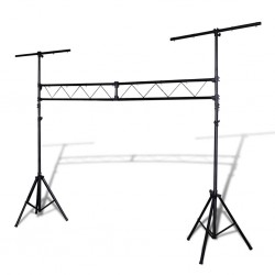 stradeXL Portable Lighting Truss System with 2 Tripods 3 m