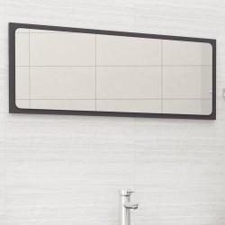 stradeXL Lustro łazienkowe, szare, 100x1,5x37 cm, płyta wiórowa