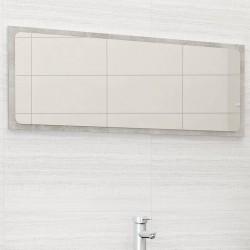 stradeXL Lustro łazienkowe, szarość betonu, 100x1,5x37 cm, płyta wiórowa