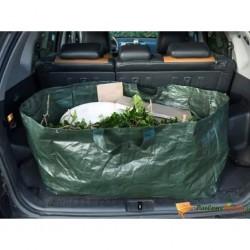 Nature Worek na odpady ogrodowe, prostokątny, 225 L, zielony