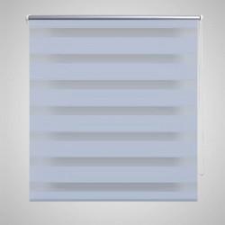 Zebra Blind 90 x 150 cm White