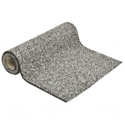 stradeXL Stone Liner Grey 250x60 cm