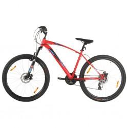 stradeXL Rower górski, 21 przerzutek, 29'', rama 48 cm, czerwony