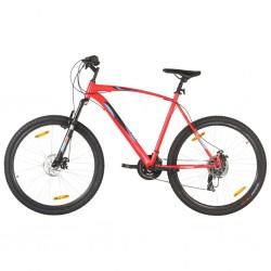 stradeXL Rower górski, 21 przerzutek, koło 29'', rama 58 cm, czerwony