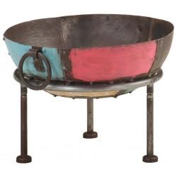 stradeXL Kolorowe palenisko rustykalne, Ø 40 cm, żelazne