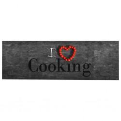 stradeXL Kuchenny dywanik podłogowy Cooking, 60x300 cm
