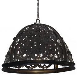 stradeXL Lampa wisząca w industrialnym stylu, 65 cm, E27