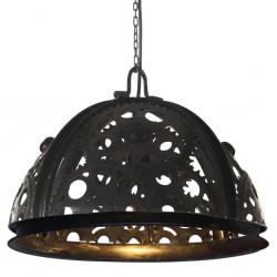 stradeXL Lampa wisząca w industrialnym stylu, 45 cm, E27