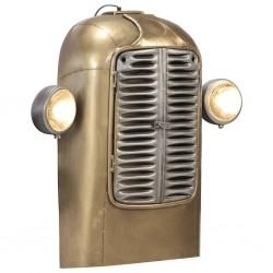 stradeXL Lampa ścienna, inspirowana traktorem, żelazo