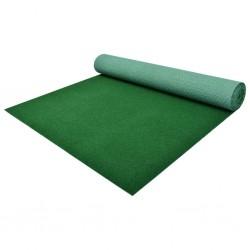stradeXL Sztuczna trawa, spód z wypustkami, 4x1 m, zielona