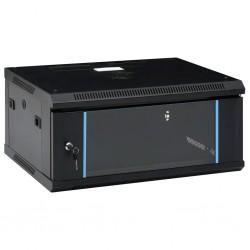 """stradeXL Ścienna szafka serwerowa 4U, 19"""", IP20, 600x450x285 mm"""