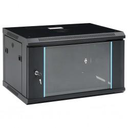 """stradeXL Ścienna szafka serwerowa 6U, 19"""", IP20, 600x450x375 mm"""