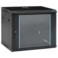 """stradeXL Ścienna szafka serwerowa 9U, 19"""", IP20, 600x450x510 mm"""