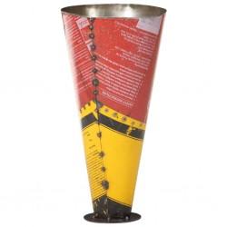 stradeXL Stojak na parasole, wielokolorowy, 29x55 cm, żelazo