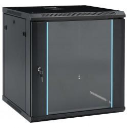 """stradeXL Ścienna szafka serwerowa 12U, 19"""", IP20, 600x600x640 mm"""