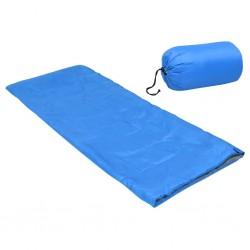 stradeXL Lekki śpiwór dziecięcy, prostokątny, niebieski, 670 g, 15°C