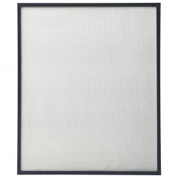 stradeXL Moskitiera okienna, antracytowa, 100x120 cm
