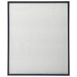 stradeXL Moskitiera okienna, antracytowa, 130x150 cm