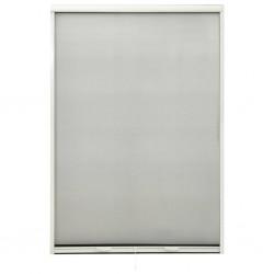 stradeXL Rolowana moskitiera okienna, biała, 110x170 cm