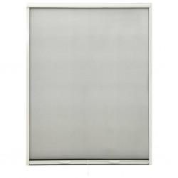 stradeXL Rolowana moskitiera okienna, biała, 130x170 cm