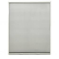 stradeXL Rolowana moskitiera okienna, biała, 150x170 cm