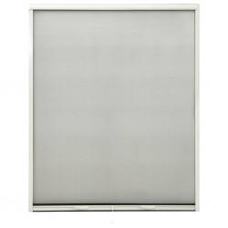 stradeXL Rolowana moskitiera okienna, biała, 160x170 cm