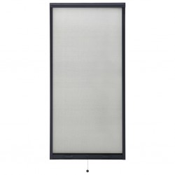 stradeXL Rolowana moskitiera okienna, antracytowa, 60x150 cm