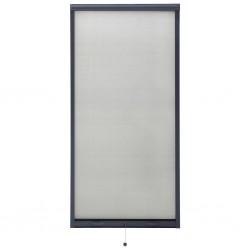 stradeXL Rolowana moskitiera okienna, antracytowa, 80x170 cm