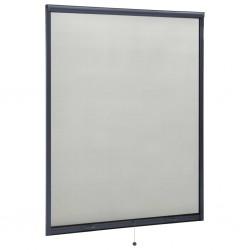 stradeXL Rolowana moskitiera okienna, antracytowa, 140x170 cm