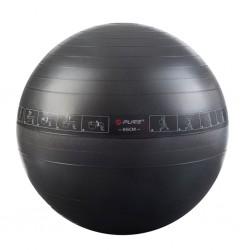 Pure2Improve Piłka do ćwiczeń, 65 cm, czarna