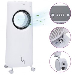 stradeXL 2-w-1 przenośny klimatyzer z nawilżaczem, 80 W