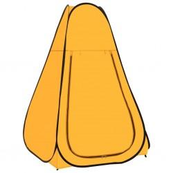 stradeXL Namiot prysznicowy typu pop-up, żółty