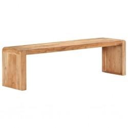 stradeXL Ławka, 160x38x45 cm, lite drewno akacjowe