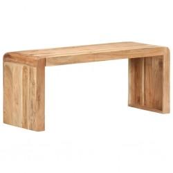 stradeXL Ławka, 110x38x46 cm, lite drewno akacjowe