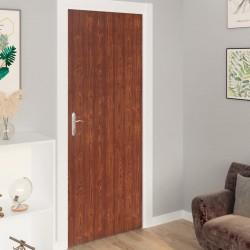 stradeXL Okleina samoprzylepna na drzwi, 2 szt., akacja, 210x90 cm, PVC