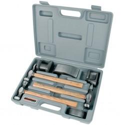 Brüder Mannesmann 7-częściowy zestaw narzędzi blacharskich, metal