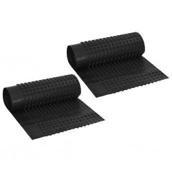 stradeXL Arkusze drenażowe z wgłębieniami, 2 szt, HDPE, 400g/m², 0,5x20m