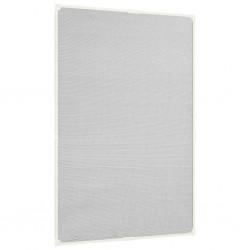 stradeXL Magnetyczna moskitiera okienna, biała, 80x120 cm